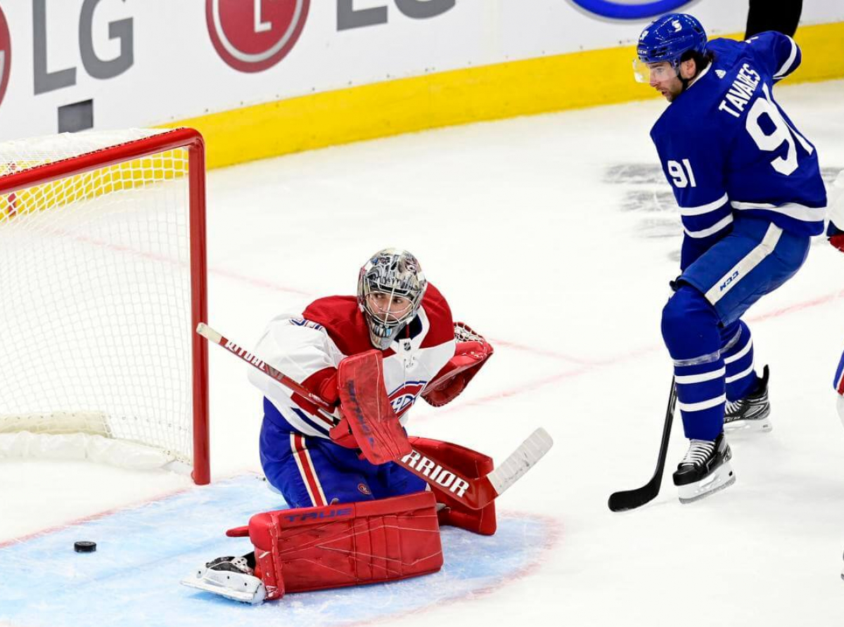 Maple Leafes defeat Canadiens 5-4